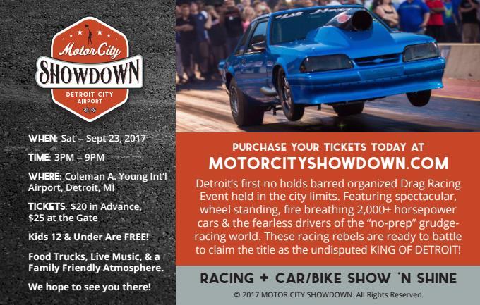 Motor City Show Down 2017