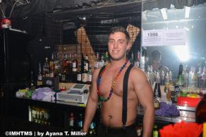 My favorite Menjos bartender, Alec